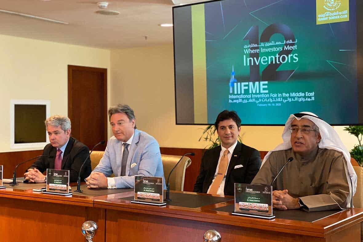 """IIFME 2020 - Speakers of International Seminar called """"From Invention to Market"""""""